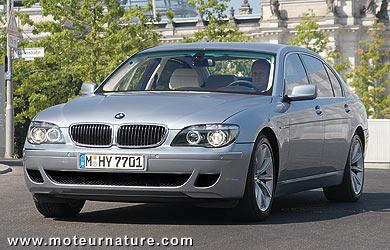 Essai de la BMW Hydrogen 7