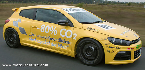 Volkswagen Scirocco biogaz
