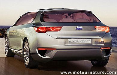Subaru Boxer Hybrid Tourer Concept