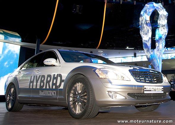 Mercedes Vision S500 plug-in hybride