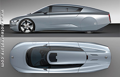 Volkswagen L1 diesel hybride