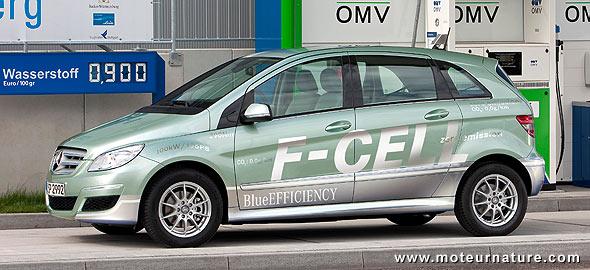 Mercedes classe B F-Cell hydrogène
