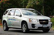 Chevrolet Equinox à PAC alimentée par de l'hydrogène