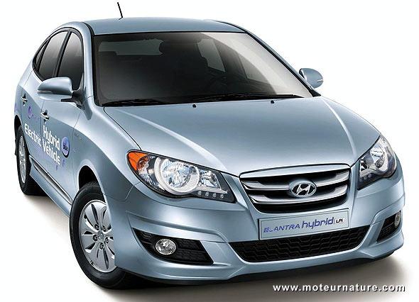 Hyundai Elantra LPI, hybride au GPL