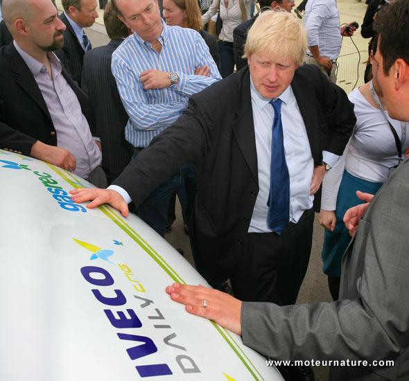 Iveco au biogaz (biométhane)