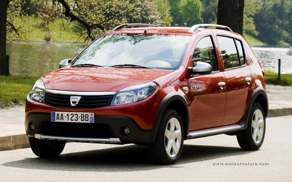 la nouvelle dacia sandero stepway dacia forum le monde automobile. Black Bedroom Furniture Sets. Home Design Ideas