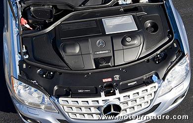 Mercedes ML450 hybride