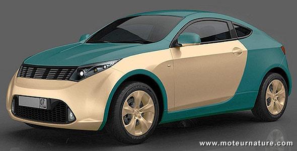 la mobile de mikhail prokhorov une voiture hybride russe r volutionnaire. Black Bedroom Furniture Sets. Home Design Ideas