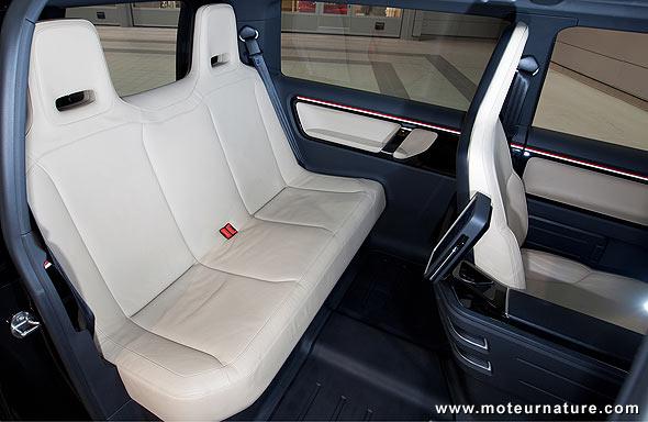 Taxi électrique Volkswagen pour Londres