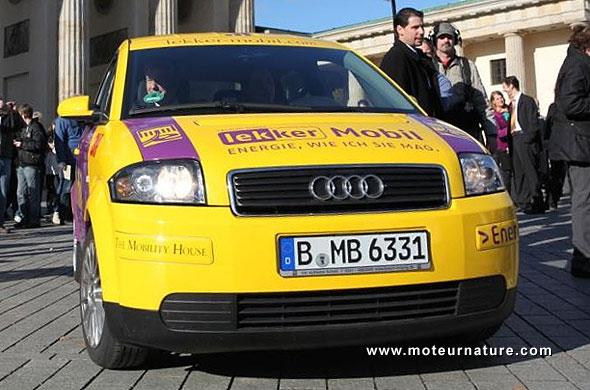 Audi A2 électrique modifiée par Lekker et DBM Energy