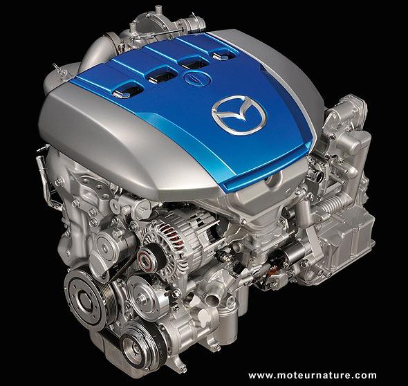 Mazda Sky diesel