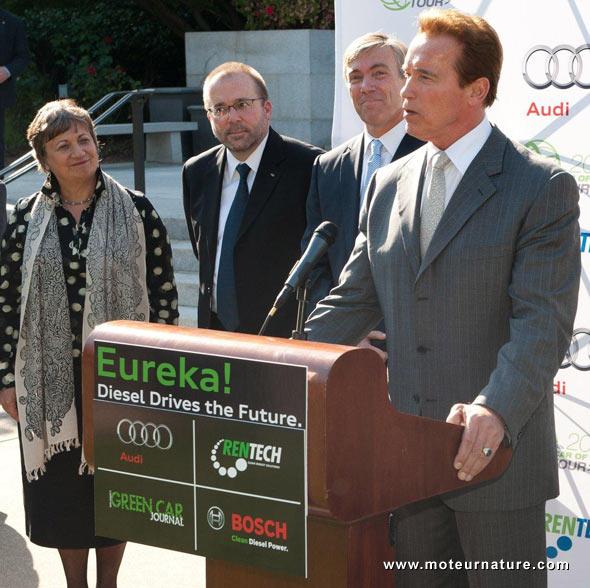 Arnold Schwarzenegger pour Rentech
