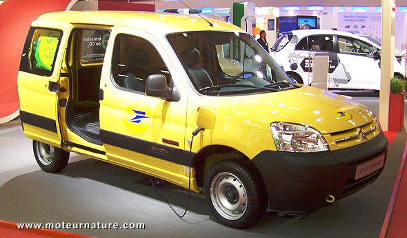 Citroen Berlingo powered by Venturi pour La Poste