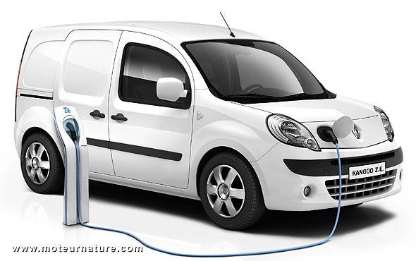 Renault Kangoo électrique