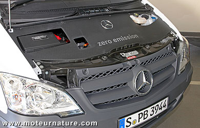 Mercedes Vito E-Cell électrique