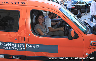 Citroën Berlingo Powered by Venturi - Shanghaï-Paris