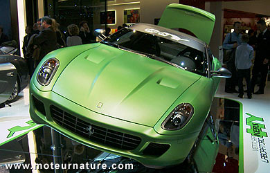 Ferrari 599 GTB hybride HY-KERS