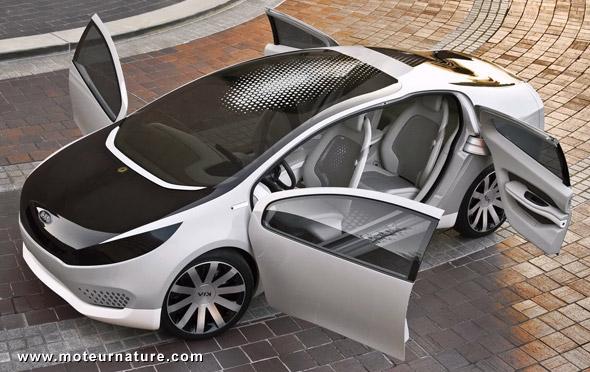 Hybride rechargeable Kia Ray