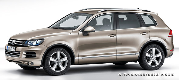 l 39 impressionnant volkswagen touareg hybride. Black Bedroom Furniture Sets. Home Design Ideas