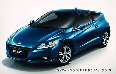 honda cr z enfin une hybride sportive pour aller draguer. Black Bedroom Furniture Sets. Home Design Ideas