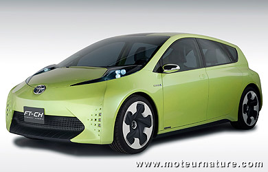 Concept Toyota FT-CH hybride