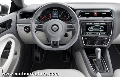 Volkswagen New Compact Coupe hybride