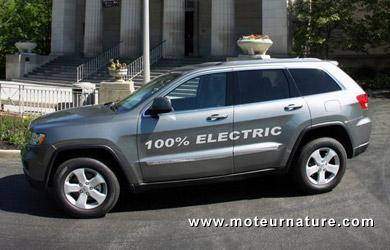 AMP Jeep Grand Cherokee électrique