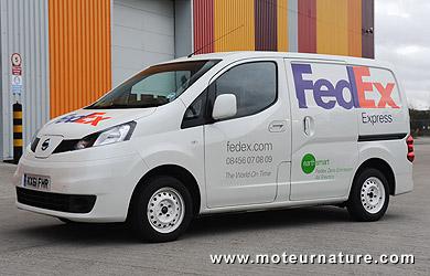 Nissan NV200 électrique de Fedex