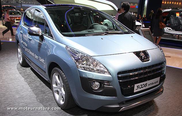 La Peugeot 3008 Hybrid4 n'a toujours pas décollé
