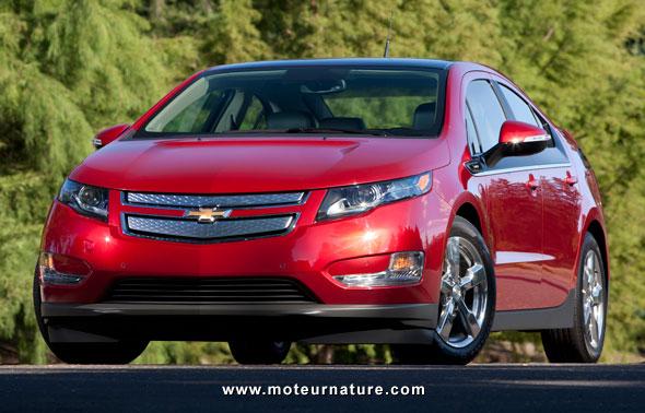La Chevrolet Volt, voiture essence la plus propre du monde