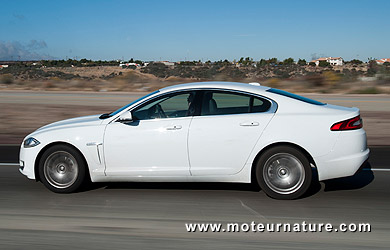 4641km à 4,49l/100km de moyenne, la Jaguar a un truc