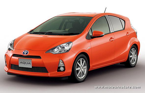 La Toyota Aqua Une Mini Prius Plus Styl 233 E Que Notre Future Yaris Hybride