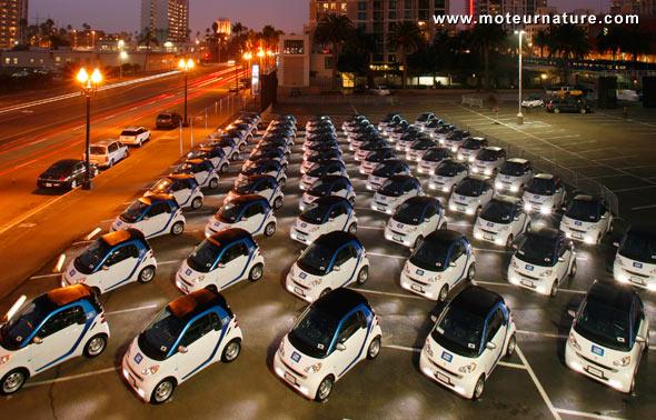 L'autopartage électrique a démarré à San Diego