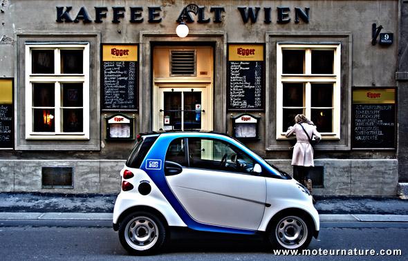 Vienne, une nouvelle conquête de car2go