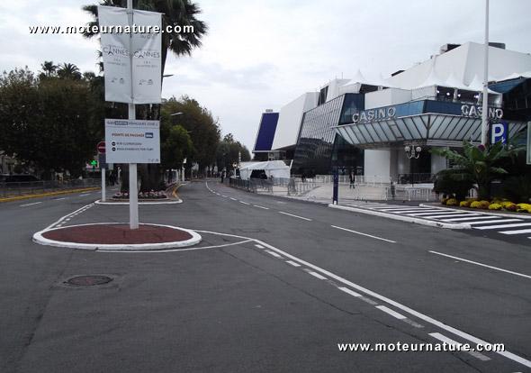 La Croisette de Cannes pendant le G20