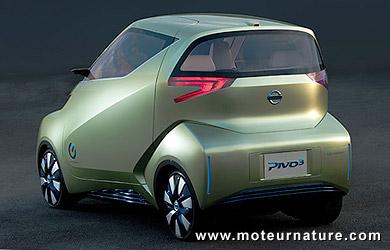 Nissan Pivo3 électrique