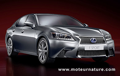 lexus gs450h f sport une variante hybride la d finition in dite et qui promet. Black Bedroom Furniture Sets. Home Design Ideas