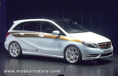 Mercedes classe B concept E-Cell Plus