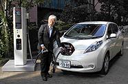 Nissan Leaf en charge