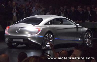 mercedes f125, la vraie voiture du futur, zéro émission et 1000 km