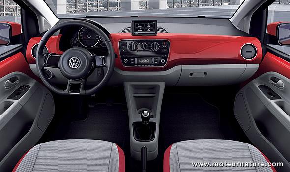 volkswagen up moins de 100 g km de co2 avec des. Black Bedroom Furniture Sets. Home Design Ideas
