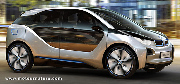 bmw i3 concept lectrique quand bmw r invente les. Black Bedroom Furniture Sets. Home Design Ideas