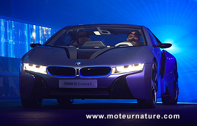 BMW i8 concept hybride rechargeable