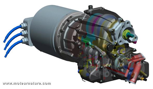 La transmission Antonov pour voitures électriques primé