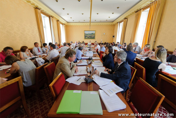 Le conseil national de l'air recommande une amende de 68€