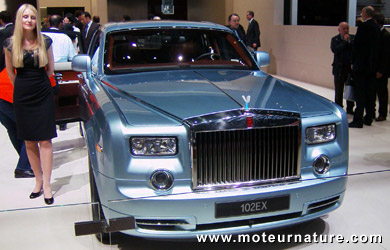 La Rolls Royce électrique