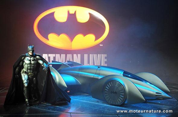 Batman roule à l'hydrogène