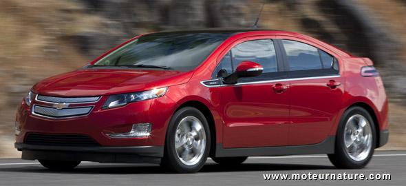 Chevrolet Volt: bientôt disponible partout