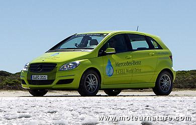Mercedes F-Cell autour du monde