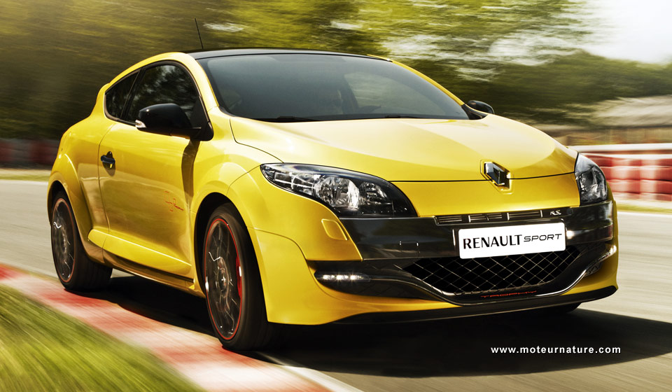 renault megane rs trophy 254 km h en pointe. Black Bedroom Furniture Sets. Home Design Ideas